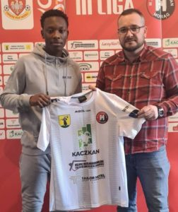 Polish side Hurricane Morąg sign Ghanaian defender Alfred Boateng Mensah