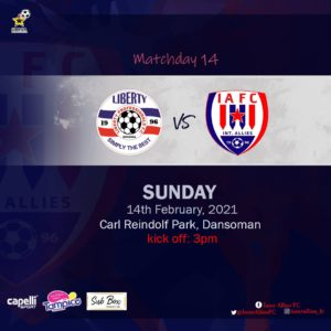 20/21 Ghana Premier League matchday 14: Liberty Professionals v Inter Allies preview
