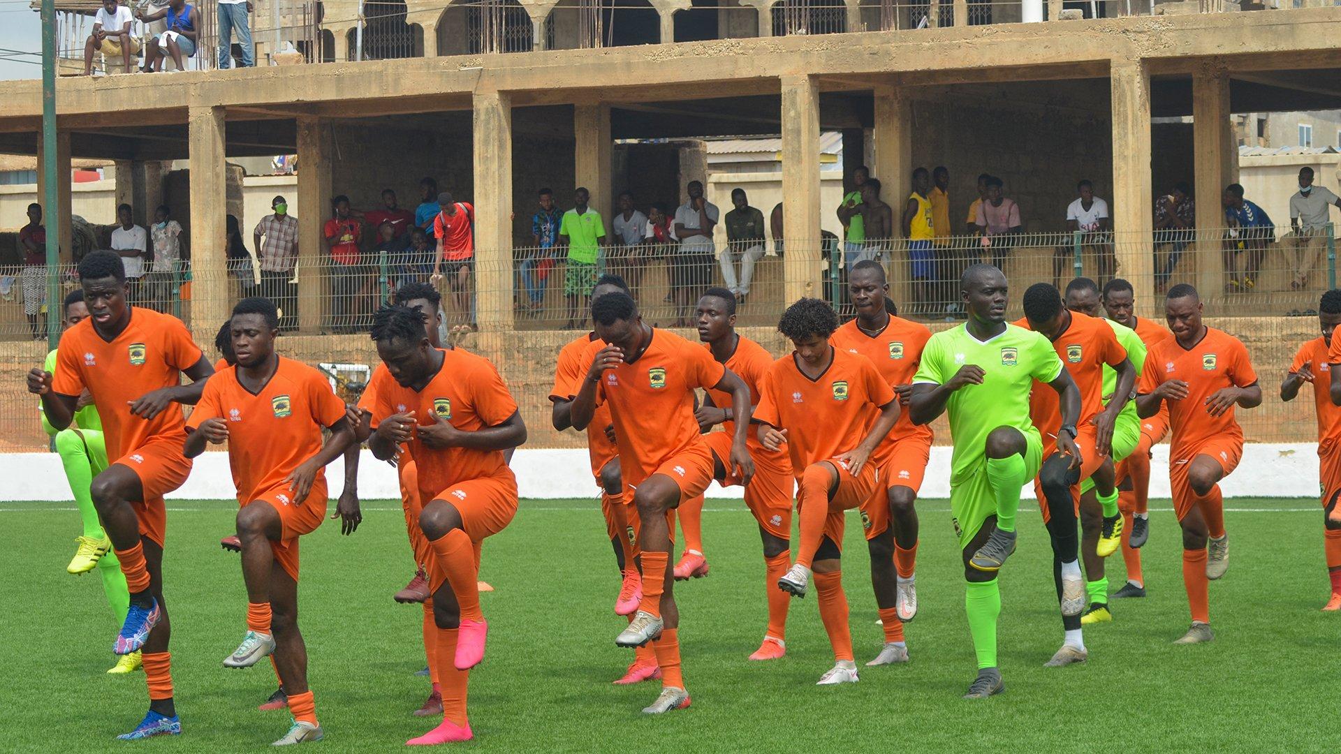 2021 Caf Confederations Cup: Asante Kotoko depart Accra for ES Setif tie in Algeria on Sunday