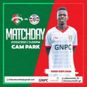 20/21 Ghana Premier League matchday 15: Karela United v Liberty Professionals preview