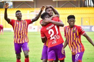 20/21 Ghana Premier League matchday 16: Isaac Mensah strikes again to give Hearts of Oak narrow win at Liberty
