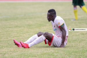 Kotoko striker Kwame Opoku ruled out of tough clash against Bechem United