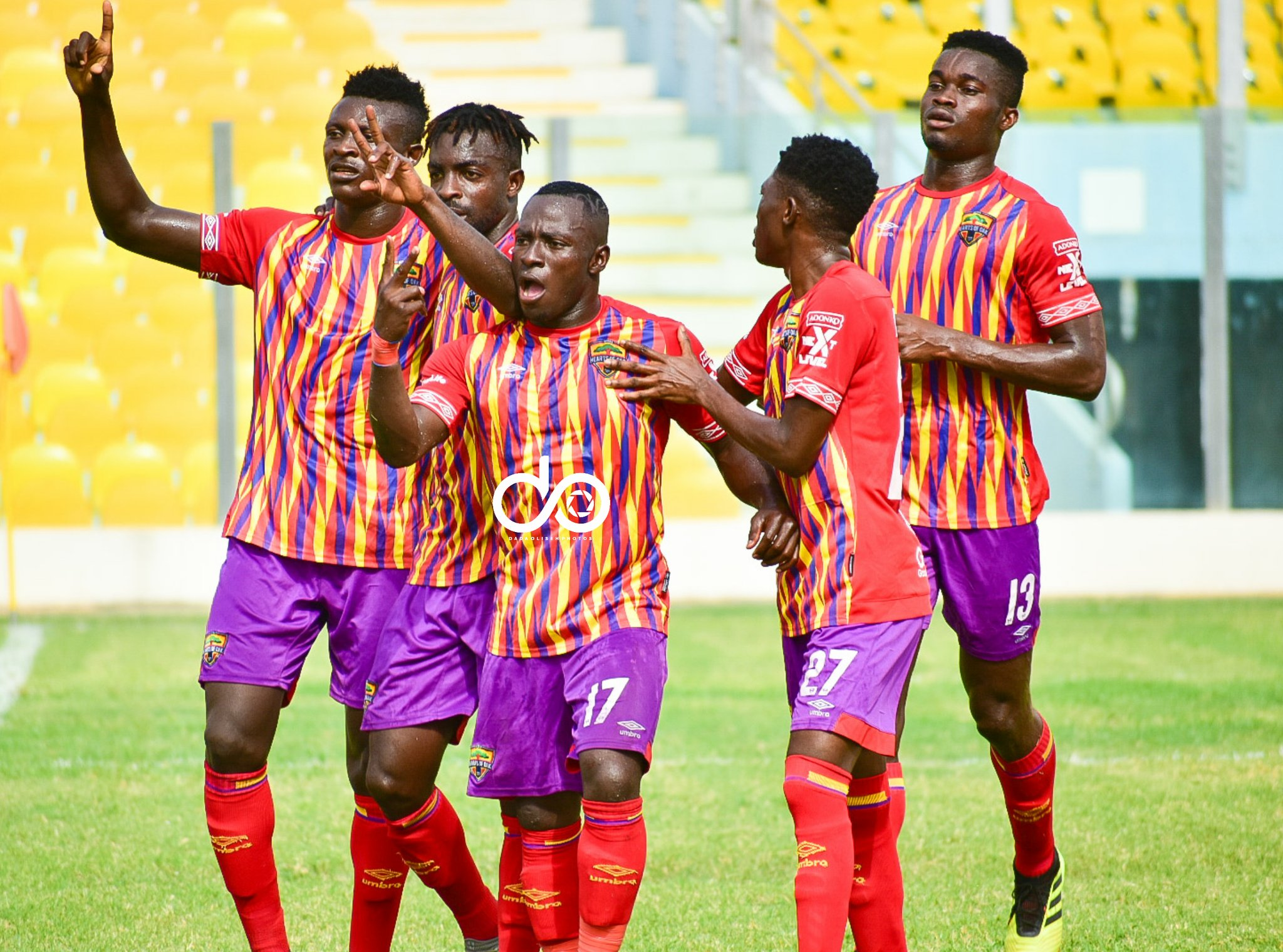 VIDEO: Late Isaac Mensah strike seals 3-2 win for Hearts against Dwarfs in GPL