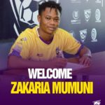Medeama confirm signing of winger Zakaria Mumuni