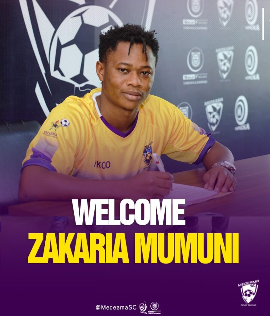 Its hugely exciting and I can't wait to be part of it - Medeama new signing Zakaria Mumuni