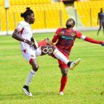 Kotoko v Hearts: Two missed penalties ensure goalless draw