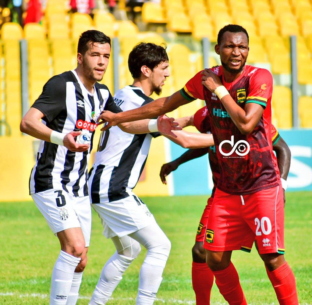 CAF Confederation Cup: Kotoko players to recieve GHC30,000 despite losing to ES Setif