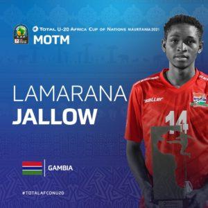 U-20 AFCON: Gambia worked really hard to beat Ghana - Lamarana Jallow