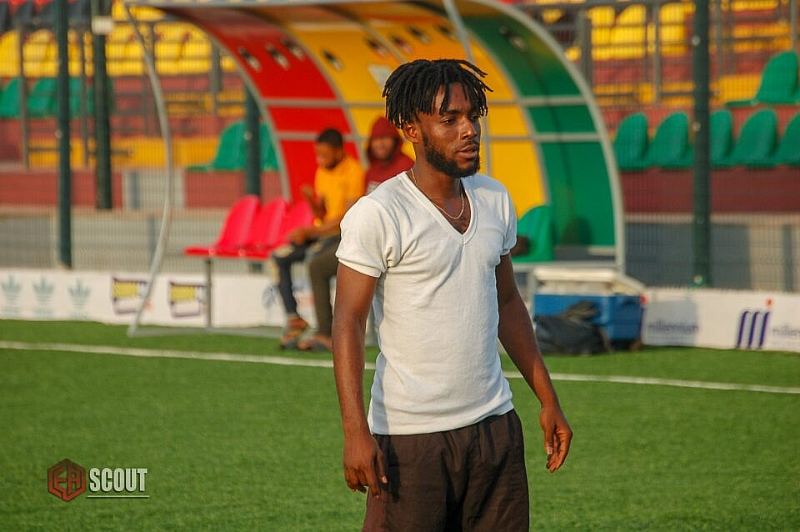 Ghanaian attacker Maxwell Baakoh set to extend deal with Ceramica Cleopatra FC