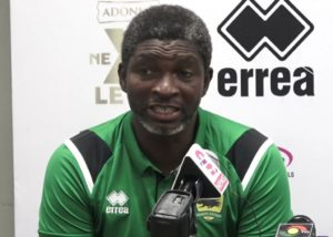 Coach Maxwell Konadu wants all his issues with Kotoko resolved peacefully