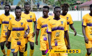 20/21 Ghana Premier League matchday 16: Medeama beat Eleven Wonders 2-0 to move to second
