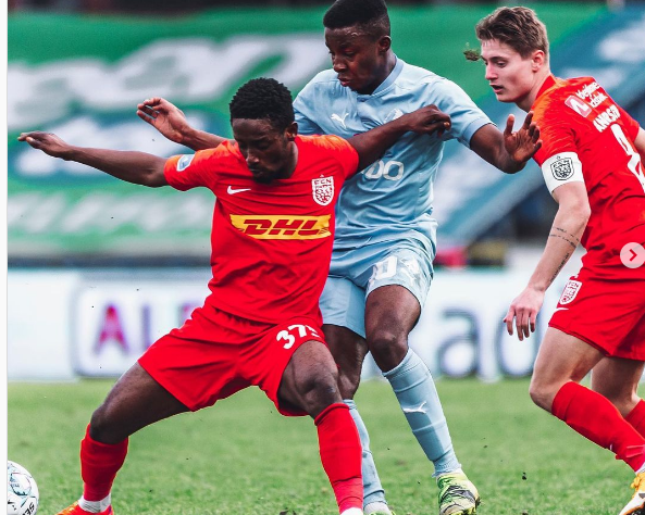 Ghanaian striker Ibrahim Sadiq elated with first start of the season for FC Nordsjaelland