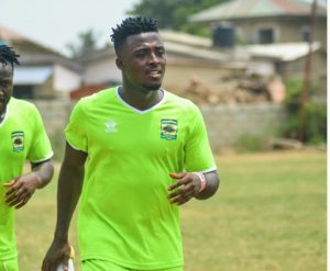 Patrick Asmah excited to join Kotoko squad after full recovery