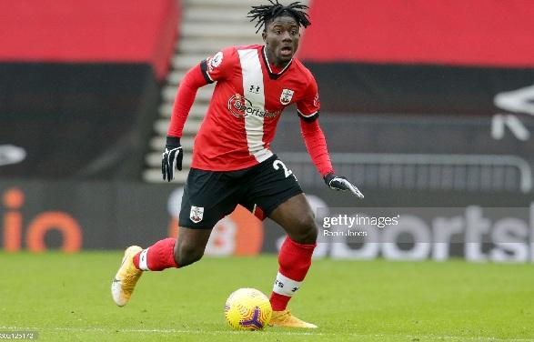 Ghanaian defender Mohammed Salisu starts for Southampton against Leeds