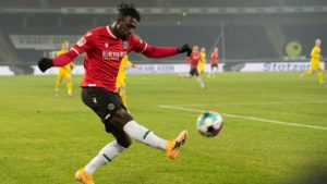 Ghanaian attacker Kingsley Schindler confident Hannover can still achieve promotion dream