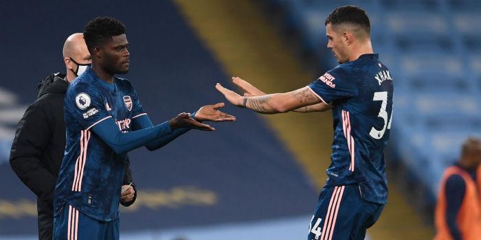 Granit Xhaka laments over persistent Thomas Partey injury at Arsenal