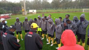 Black Starlets hold first training session in Morocco ahead of friendlies