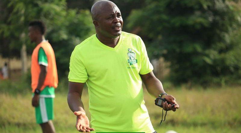 Elmina Sharks coach Yaw Acheampong in line for vacant Hearts of Oak head coach job