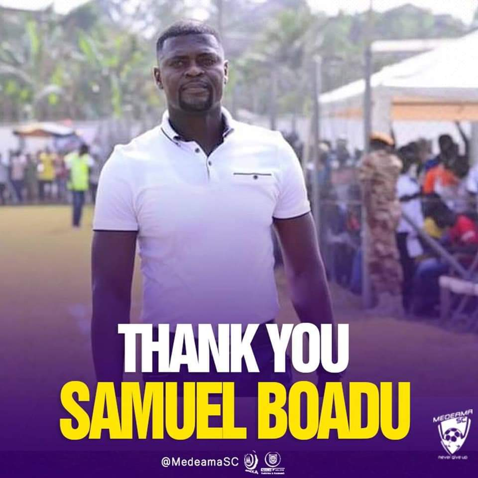 Official: Samuel Boadu leaves Medeama SC