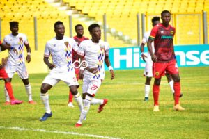 It was a difficult game against Hearts of Oak - Latif Anabila