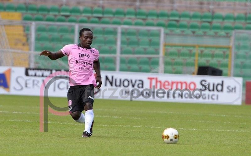 Moses Odjer will miss the derby game against Catania due to suspension