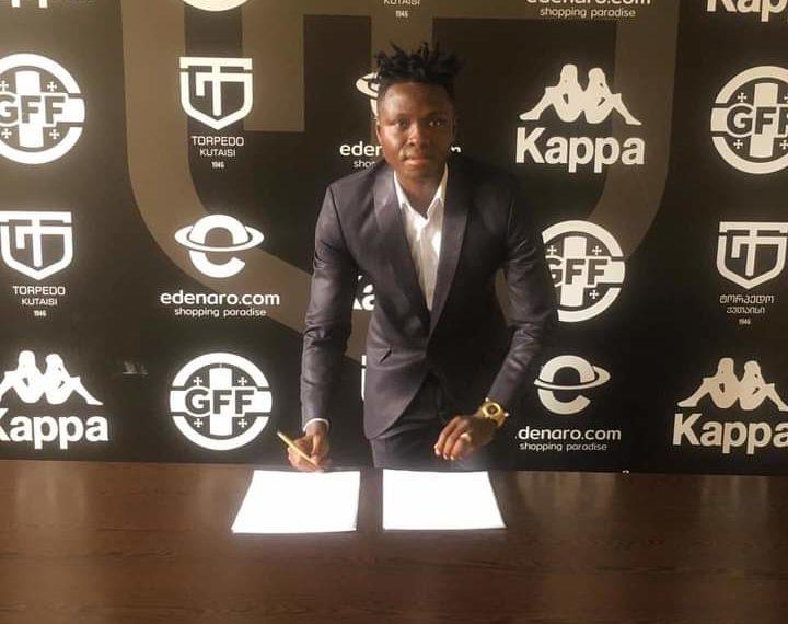 Ghana defender Samuel Inkoom joins Georgian side FC Torpedo Kutaisi