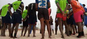 Beach Soccer: PFAG delegation visits camp of Black Sharks; assures team of continuous support