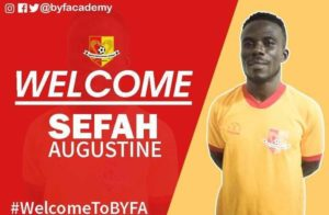 Ex-Kotoko defender Augustine Sefah seals move to lower-tier side BYFA