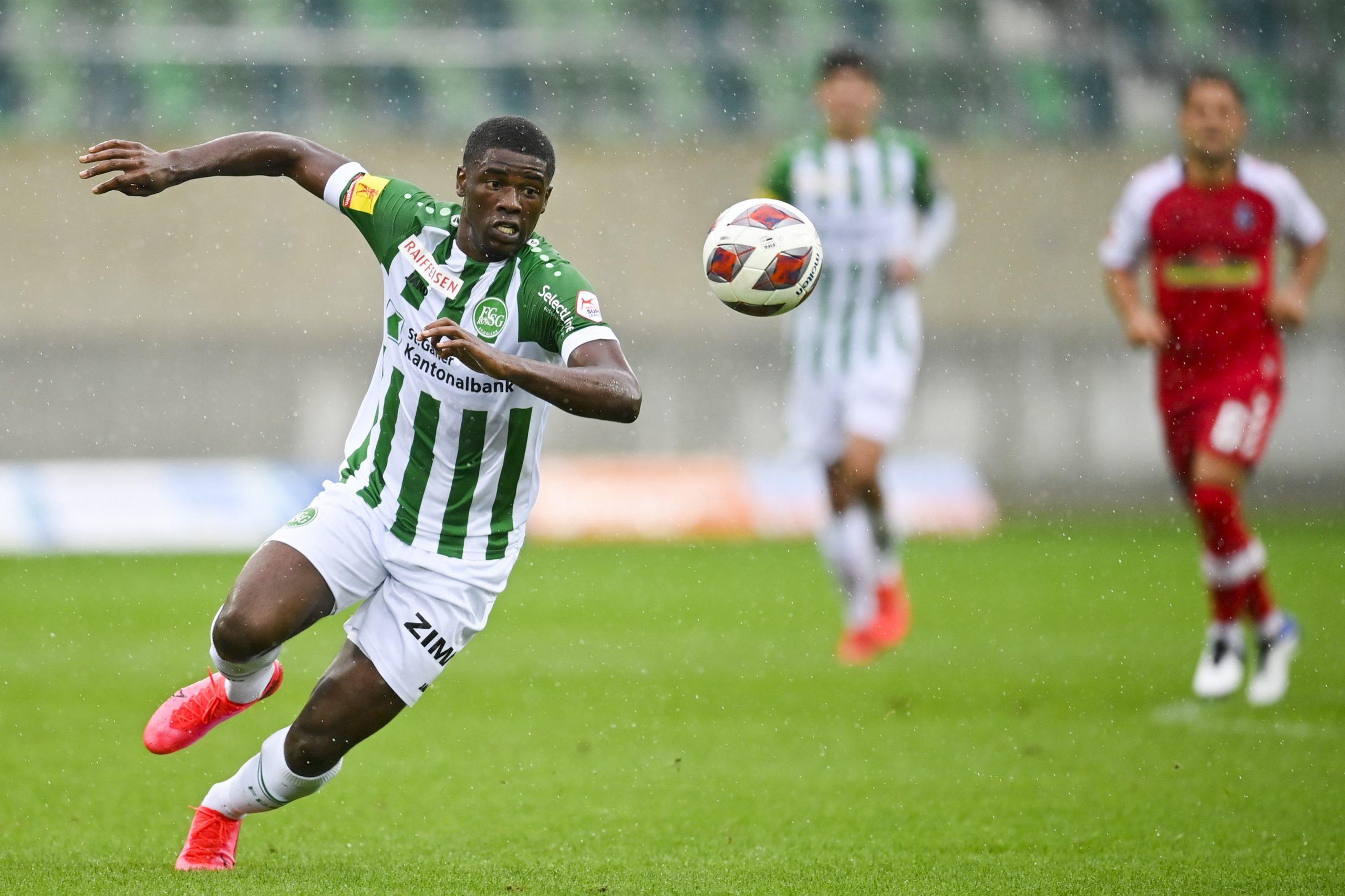 Ghanaian striker Kwadwo Duah nets seventh goal of the season for FC St. Gallen