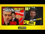 """ARTETA IS THE 3RD BEST BOSS IN THE LEAGUE!"" Khaled the Arsenal fan returns with a HUGE statement!"