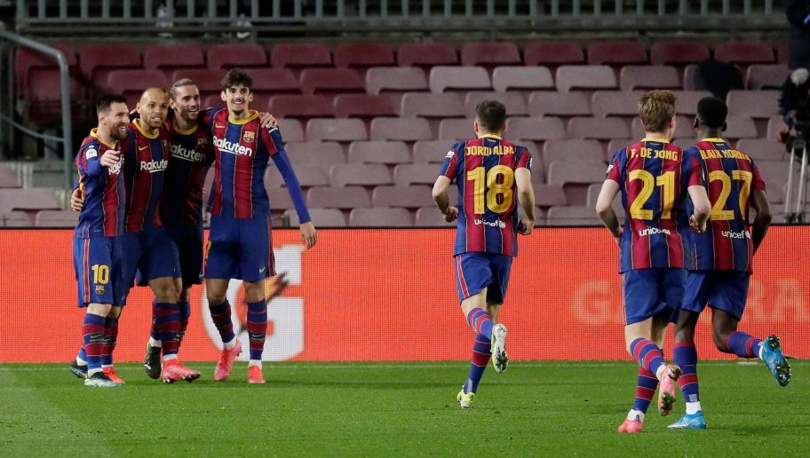 Barcelona 3-0 Sevilla: Player ratings as Barca reach Copa del Rey final in dramatic fashion