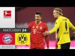 Haaland's Brace Not Enough Against Unstoppable Lewandowski | Bayern vs. Dortmund | MD 24