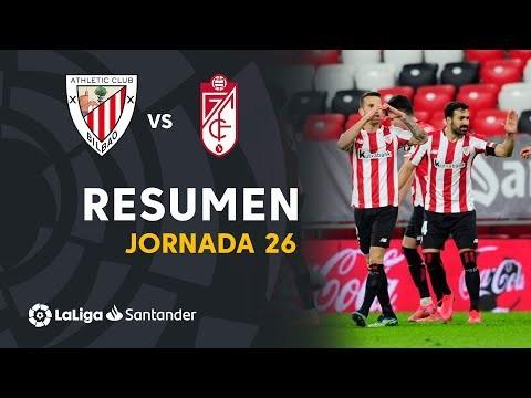 Resumen de Athletic Club vs Granada CF (2-1)