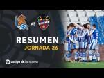 Resumen de Real Sociedad vs Levante UD (1-0)