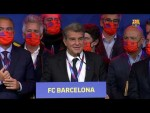 🔵🔴 Joan Laporta's full victory speech
