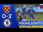 West Ham 0-2 Chelsea | Kerr & England Goals See Blues To Victory | Women's Super League