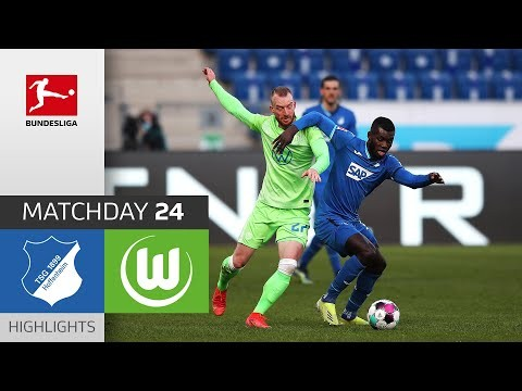 TSG Hoffenheim - VfL Wolfsburg | 2-1 | Highlights | Matchday 24 – Bundesliga 2020/21