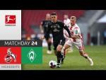 1. FC Köln - SV Werder Bremen | 1-1 | Highlights | Matchday 24 – Bundesliga 2020/21