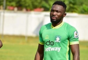 Aduana Stars defender Farouk Adams hits police officer with car