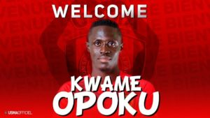 Algerian giants USM Alger confirms deal with Asante Kotoko for the signing of striker Kwame Opoku