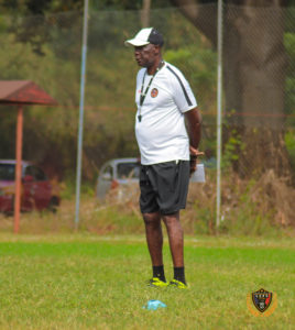 Legon Cities coach Bashir Hayford take positives from defeat to Black Stars in friendly