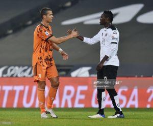 Every child must emulates Cristiano Ronaldo – Spezia midfielder Emmanuel Gyasi