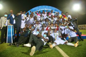 Victorious Black Satellites to meet President Akufo Addo at Jubilee House today