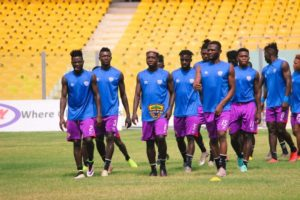 Hearts of Oak's regular first-team players given a short break to rest