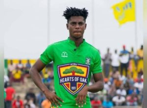 OFFICIAL: Hearts of Oak confirm the signing of defender Caleb Amankwah