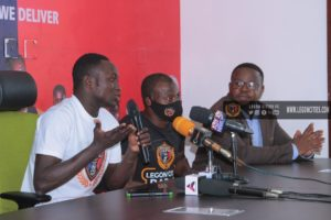 Victorien Adebayor buzzing after completing loan move to Legon Cities FC