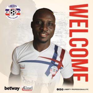 OFFICIAL: Liberty Professionals sign ex-Kotoko striker William Opoku Mensah