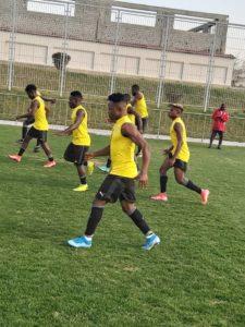 Ghana's Black Stars B hold another training session ahead of Uzbekistan meeting