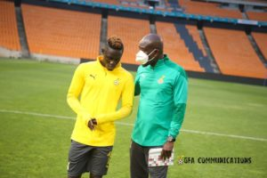 2021 AFCON qualifiers: Ex-Kotoko striker Kwame Poku leads Ghana's attack to face South Africa