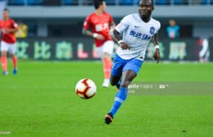 Frank Acheampong's club Tianjin TEDA risk going bankrupt